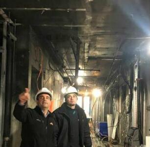 уборка производства после пожара