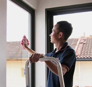 уборка дома мытье окон