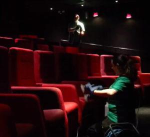 химчистка кресел в кинотеатре в москве