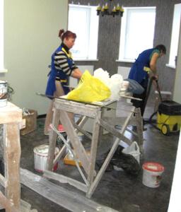 Послестроительная уборка помещений в москве