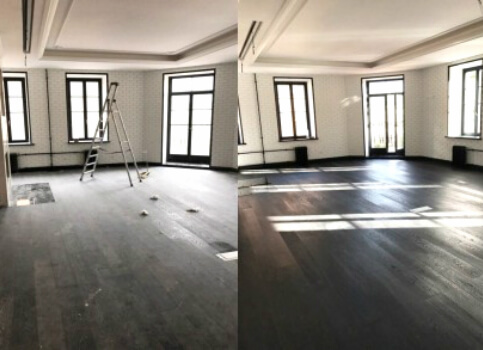 уборка коттеджей после ремонта в москве