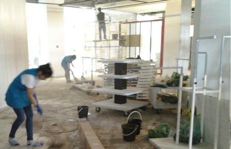 уборка магазина после ремонта в москве