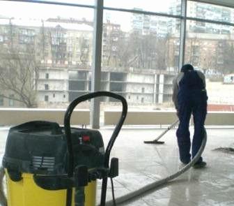 уборка магазина после ремонта удаление пыли