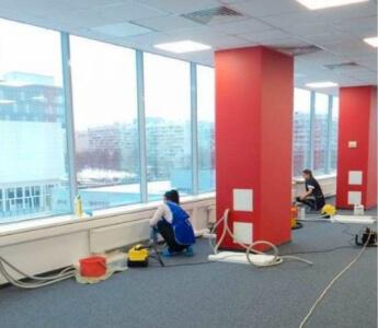 уборка офиса после ремонта в москве