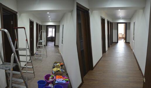 уборка офиса после ремонта клининговой компанией