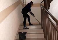 уборка подъездов после ремонта мытье лестниц