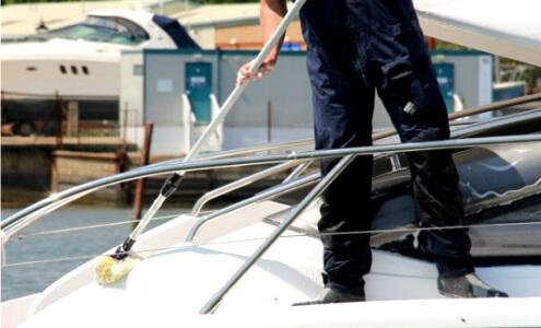 уборка яхт и катеров