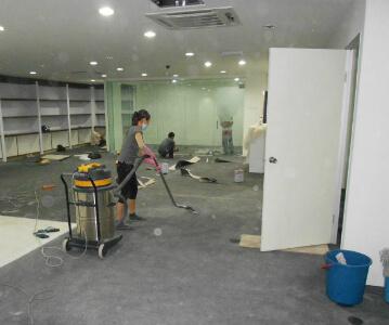 послестроительная уборка зданий